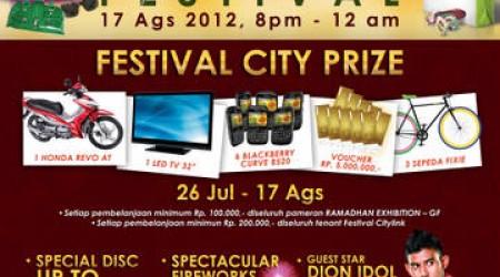 Ramadhan Festival 2012 – Festival Citylink Bandung