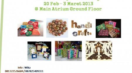 Go Green HandyCraft 2013 – Festival Citylink Bandung