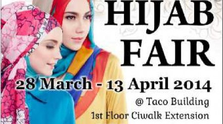 Hijab Fair 2014 – Cihampelas Walk