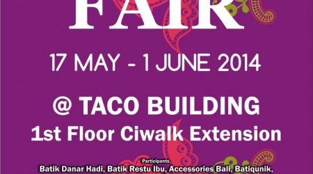 Ethnic Fair 2014 – Cihampelas Walk Bandung
