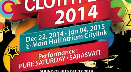 Clothing Festival – Festival Citylink Bandung ( 22 dec – 4 jan 2015 )