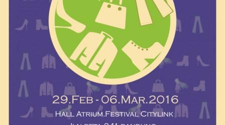 Bandung Kulit, Sepatu & Denim 2016 – Festival Citylink Bandung
