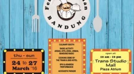 FoodFest 2016 Vol 2 – Trans Studio Mall Bandung