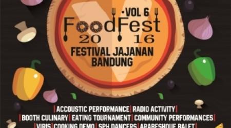 FoodFest 2016 Vol.6 – Festival Citylink Bandung